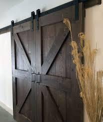 pleted diy barn door