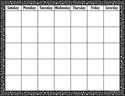 Black White Crazy Circles Calendar Chart Price From Albatra