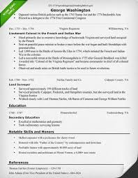 Best George Washington Resume Pictures - Simple resume Office .