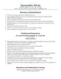 Medical Assistant Resume Objectives Medical Assistant Objective Sample Dental Assistant Resume 42