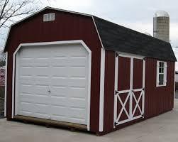 amish built 12x24 wood garages 12x24 barn wood garage