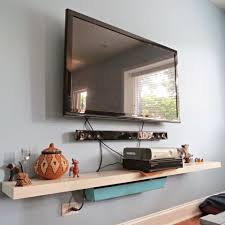 to hide your television and cable wires