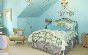 ... Fancy Girl Bedroom Ideas With Blue Walls B14d In Attractive Home  Designing Ideas With Girl Bedroom ...