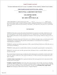 Sample Prenup Online Prenuptial Agreement Template Prenup Template Download