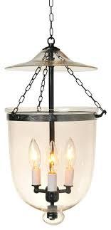 clear glass bell jar lantern antique brass uk pendant lighting
