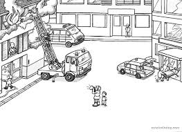 Small Picture Coloring Page Fire Truck Pages Free Printables To Print Printable