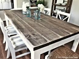 10 diy dining table ideas build your own table in 2018 beach house dining room table pottery and barn