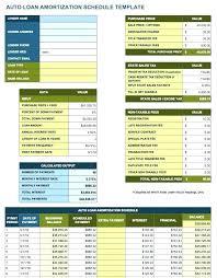 Loan Amortization Schedule Template Stevewakefield Info