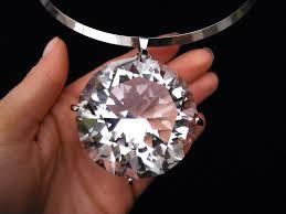details about bib pendant choker silver huge large big clear gem crystal rhinestone necklace