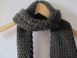 Mens Scarf Crochet Pattern Best Granite Stitch Men's Scarf The Caped Crocheter