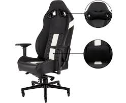 Corsair t2 road warrior and t1 race gaming chairs Corsair Road Warrior T2 White Office Gaming Chair Aria Pc