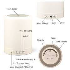 Bl3 6 In 1 Smart Touch Lamp With Bluetooth Speaker