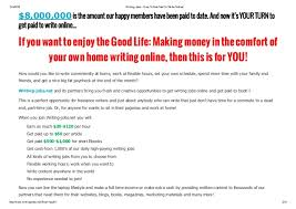 writing online jobs fom home earn per day live support  2 11 4 2016 writing jobs how to get paid to write online
