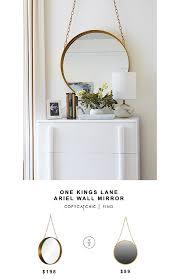 one kings lane ariel wall mirror