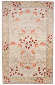 beautiful traditional hand tufted wool 5x8 area rug carpet ivory burdy yellow
