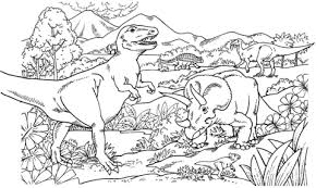 Small Picture triceratops coloring page triceratops dinosaur coloring pages