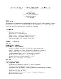 Hr Assistant Resume Noxdefense Com