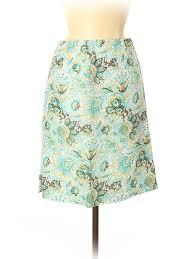 Details About Loro Piana Women Blue Casual Skirt 42 Italian