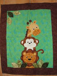 26 best images about Quilts on Pinterest   Easy baby quilt ... & Farm Animal Quilt Patterns Free   Jungle animal baby quilt - QUILTING Adamdwight.com