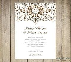 Wedding Invitation Templates Downloads Wedding Invitation With Beautiful Flower Card And Medieval