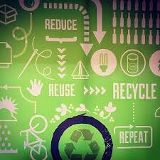 rc reduce reuse recycle and compost lesson a graphic informing people to reduce reuse recycle and repeat