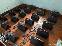 O que você tem, todo mundo pode ter, mas o que você é. Fazenda De Mineracao De Criptomoedas Utiliza Notebooks Na China Bitnoticias