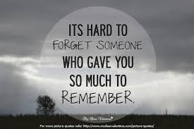 Forget Love Quotes Adorable Its Hard To Forget Someone