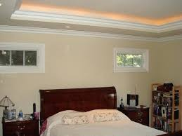 master bedroom tray ceiling with recessed lights good idea rope lighting