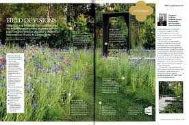 the june 2016 issue of australian house garden magazine features a double page spread on