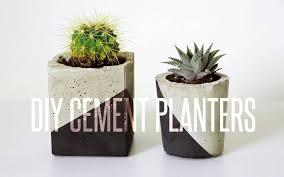 Big Concrete Planters Diy Cement Planter Youtube