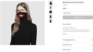 Gucci Stock Chart Gucci Was Selling A Blackface Sweater For 890 Until