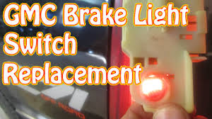 2004 Colorado Brake Light Switch Diy How To Replace A Gmc Brake Light Switch Chevy Silverado Pickup Truck Brake Switch Replacement