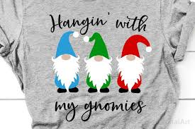 We print the highest quality christmas gnome onesies on the internet. Hangin With My Gnomies Svg Christmas Svg Cute Kids Svg File 412704 Svgs Design Bundles