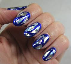 Nerdy for Nails: Broken Glass Nails