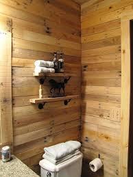pallet wall bathroom pallet wood wall bathroom