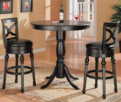 Image Kitchen Home Accents Home Office Accent Chairs Cabinets Curleys Furniture Store Coaster 100278 Lathrop Black Bar Height Table And Stools Curleys