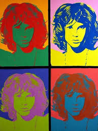 acrylic jim morrison andy warhol style painting facebook com