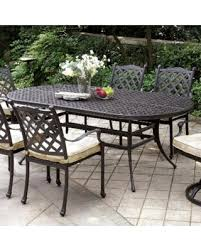 outdoor metal table. Perfect Table Furniture Of America Camille Black Outdoor Dining Table Bronze Patio  Throughout Metal D