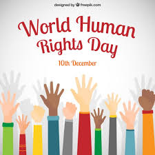 world human rights day poster vector  world human rights day poster vector