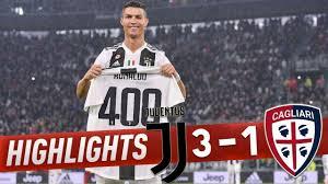 Juventus vs Cagliari 3 1 • Highlights & Goal • 2018 HD - YouTube