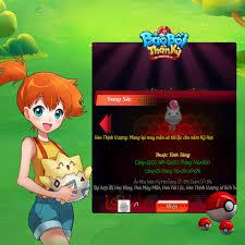 Pokémon - Bảo Bối Thần Kỳ H5 - Home