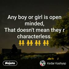 Open Minded Quotes 36 Stunning Any Boy Or Girl Is Open Minded Hindi Quotes Hindi Shayari