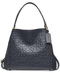 COACH Edie 31 Signature Shoulder Bag