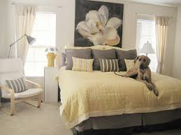 ... Gray White And Yellow Bedroom Pictures