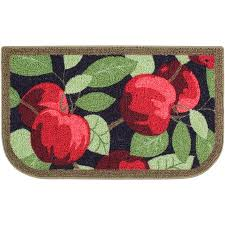 apple kitchen rugs. better homes and gardens apples kitchen print rug, apple rugs p
