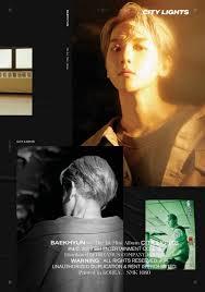 City Lights Poster Baekhyun Pin By Eqa On Bae_baekhyun In 2019 Baekhyun Mini Albums Exo
