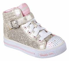 skechers twinkle toes high tops gold. gold / pink skechers twinkle toes high tops gold n