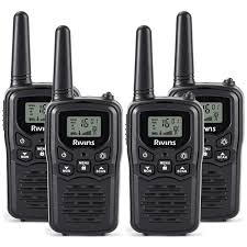 Amazon.com: Rivins RV-7 Walkie Talkies Long Range 4 Pack 2-Way Radios Up to  5 Miles Range in Open Field 22 Channel FRS/GMRS Walkie Talkie for Adults  UHF Handheld Walky Talky (Black/Orange): Car