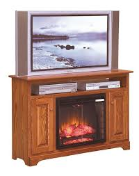 islington 51 electric fireplace tv stand from dutchcrafters amish rh dutchcrafters com amish heater tv stand