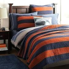 rugby stripe quilt rugby stripe quilt sham navy orange just ordered for grant rugby stripe quilt rugby stripe quilt rugby stripe quilt navy